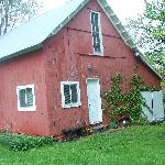  The outside of the barn