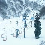Chair lifts at Hakuba Goryu