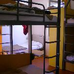  7 bed dorm room