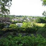 This is a view of Bunratty from the Fox Wald grounds.