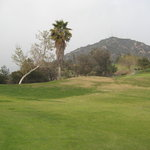The Verdugo Mountains.  And there are several holes way more handsome than this one!