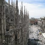 Photo taken from roof of Duomo