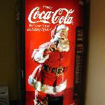 Coke Machine at Santa's Lodge