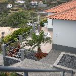  Looking down onto the sun terrace of Casa Palmeira
