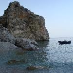 The beach at Kira Panagia