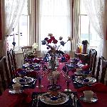 Breakfast Table on July 4, 2009