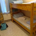  my bed in shared room