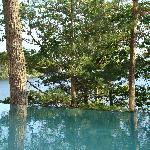  Lake Muskoka from infinity pool