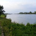 Saone river - nearby