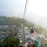 Gangtok from the ropeway