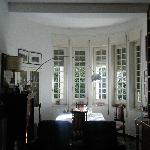 The breakfast room