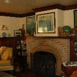 The lovely sitting room