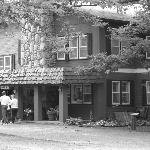  a step back in time... (but the lodge is not actually in black and white)