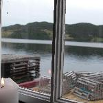 A step back in time - View from Artisan Inn Restaurant