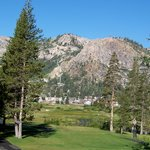 10th hole on golf course, overlooking Squaw Valley village
