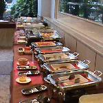 Half the Breakfast Buffet