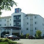 Hotel exterior on July 15, 2009.