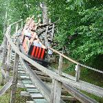 Rollo Coaster at the turn around point
