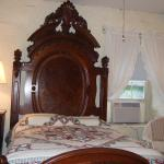 One of two antique beds - Room 10