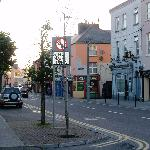 One of the streets in the town of Tralee