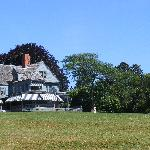 Sagamore Hill from driveway