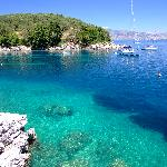 Agni Beach, north Corfu