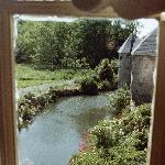 View from Room to Barn and Moat