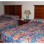 motel bed (from motel site)