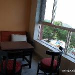 Balcony at Annexe rooms