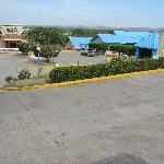 Hotel Los Guayacanes,  view of Casino area. Chitre.
