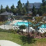 view of pool from our 2n