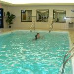Pool at Holiday Inn in Bay City