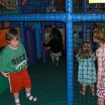 Soft play area in club house
