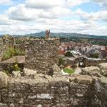  Ludlow from the castle tower