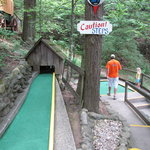 Hillbilly Golf - part of the course
