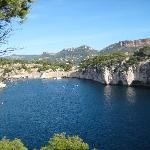 View of Calanques