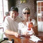  After our stay at Pear Tree Inn we drove right to Pat O&#39;Brians in The French Quaters for a Hurri