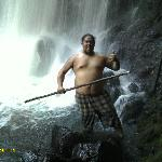  My Cousin Joe, Less than 5 Minutes after we arrived at Falls at Kawainui!