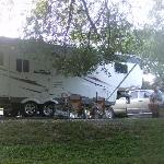  View of our RV spot
