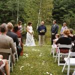  The wedding at Hawkmeadow Farm