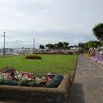 beautiful promenade on the seafront, a short walk from the Ashton Court hotel