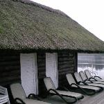 Hotel Doellnsee Schorfheide, Sauna House on lake-shore.