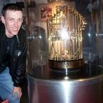 World Series trophy from the last time the Reds did something =)