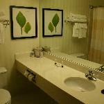 two queen room wash room