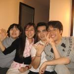 Friends at Shinagawa