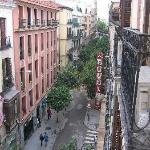view towards Gran Via