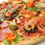 Lovely pizza real Italian style