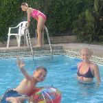 kids loved the pools