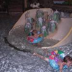 Indoor water play area