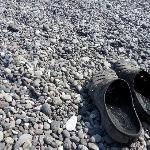  Bring shoes to beach - HOT!